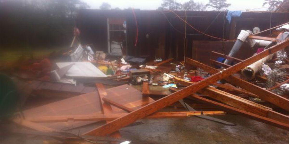 NWS survey team confirms tornado hit Jasper Co.