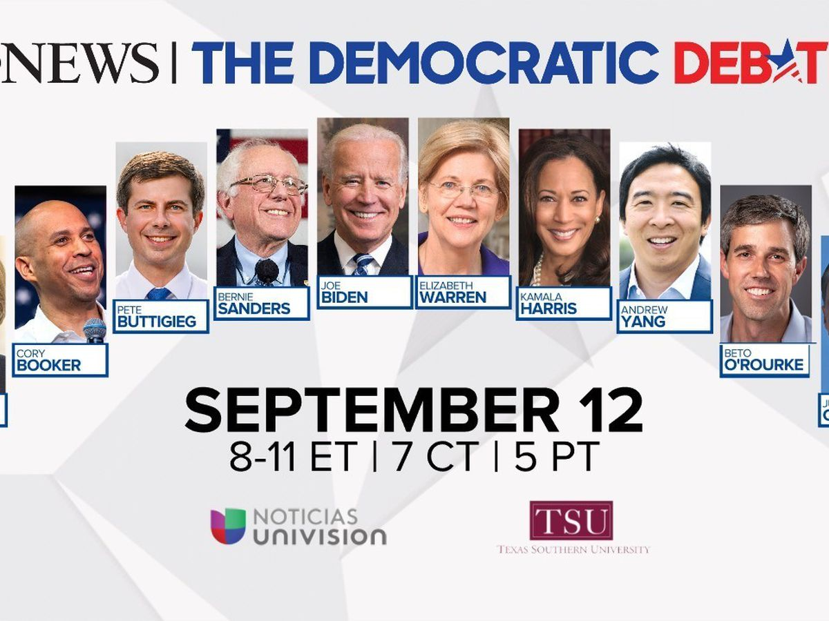 Democratic debate covered expected issues: immigration, guns, health care