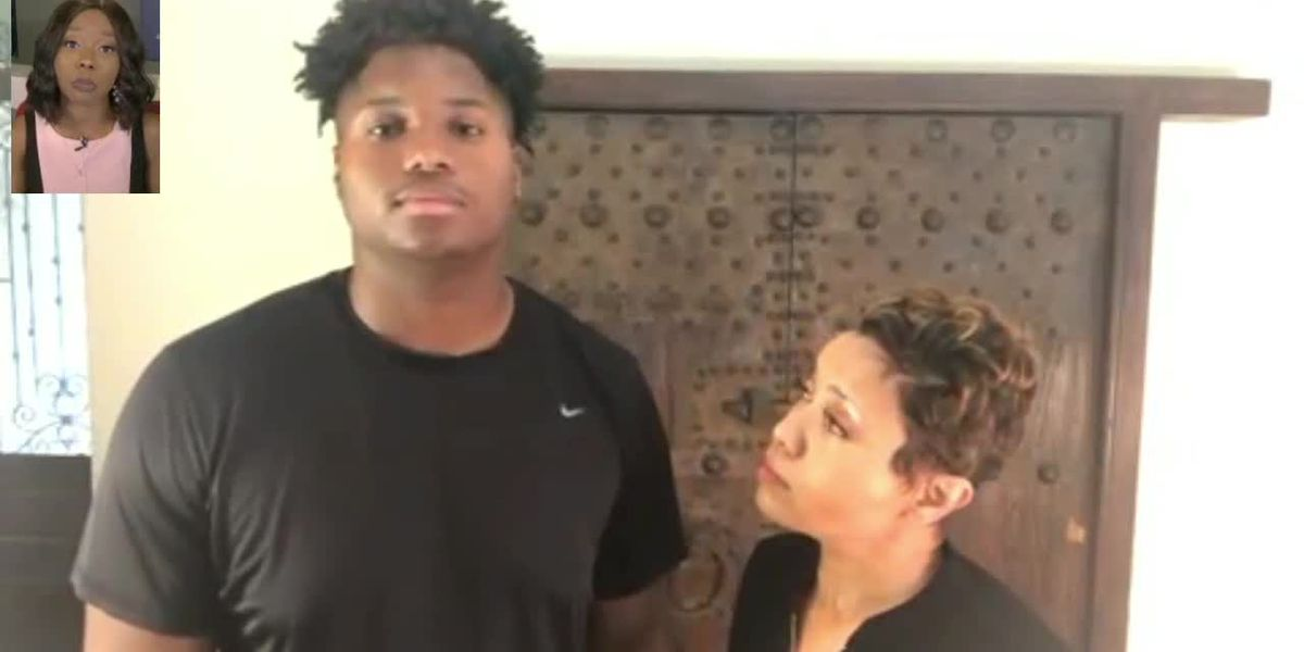 WATCH: Anissa Centers and her son talk about COVID-19 effects on student-athletes