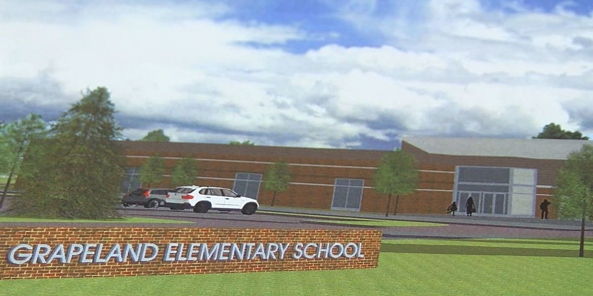 Grapeland voters approve bond for new elementary school