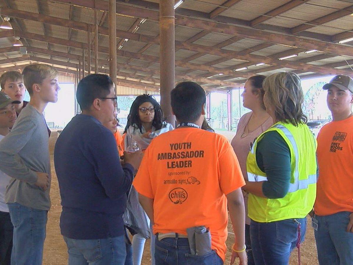 Students volunteer in Piney Woods Fair Youth Ambassador Program