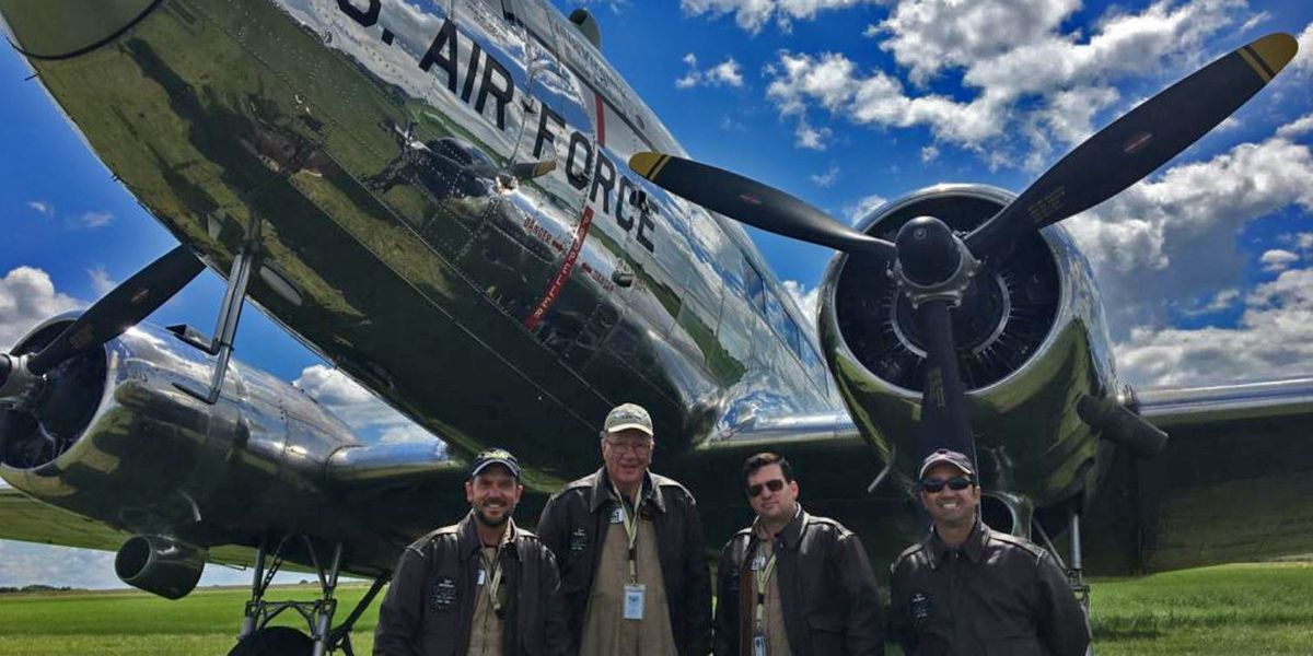 LeTourneau University alumni participate in D-Day flyover in Normandy