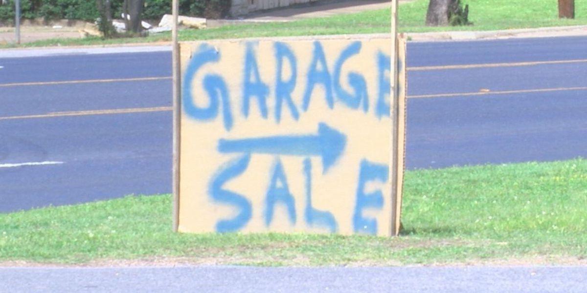 Nacogdoches self storage hosts city wide garage sale