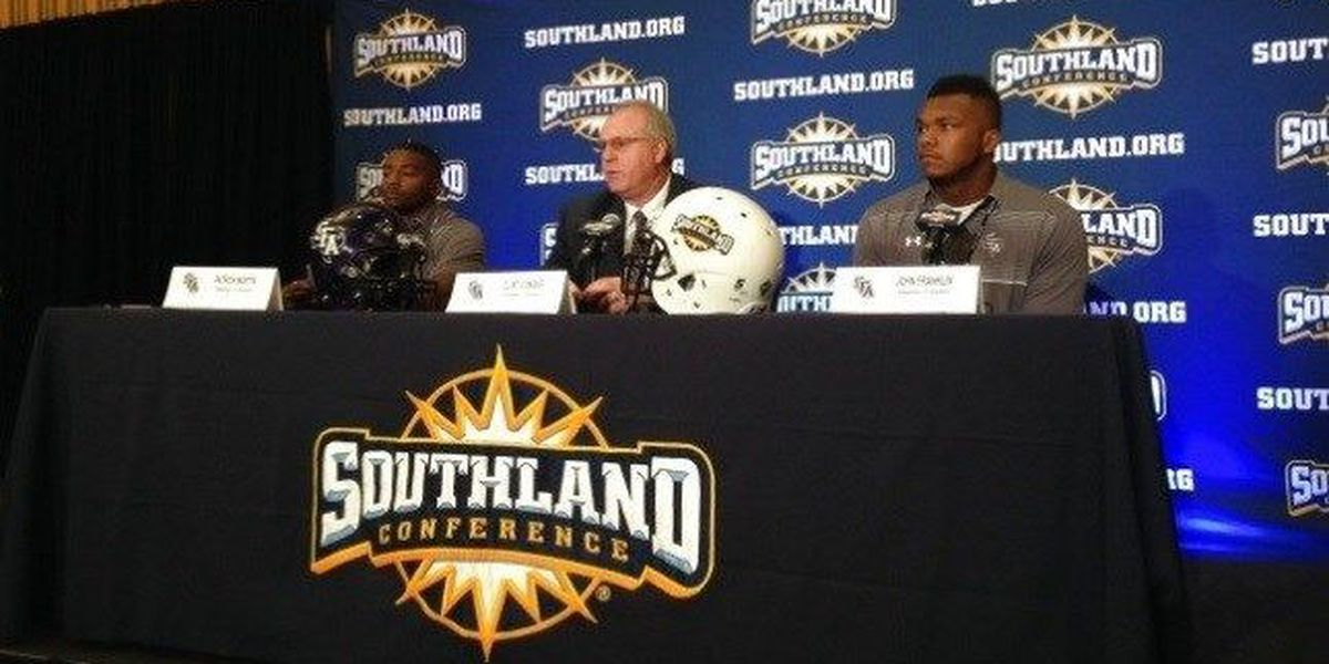 Lumberjacks take part in 2016 Southland Conference Football Media Day
