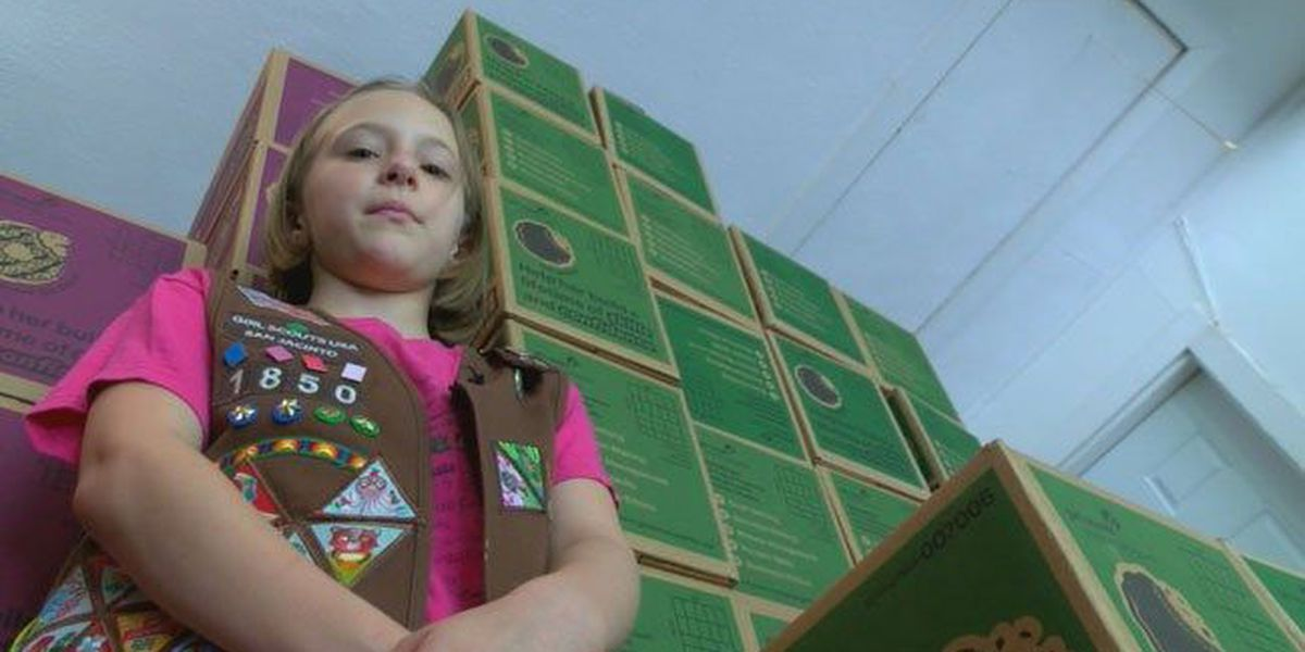 Nacogdoches Girl Scout troop striving to sell cookie surplus