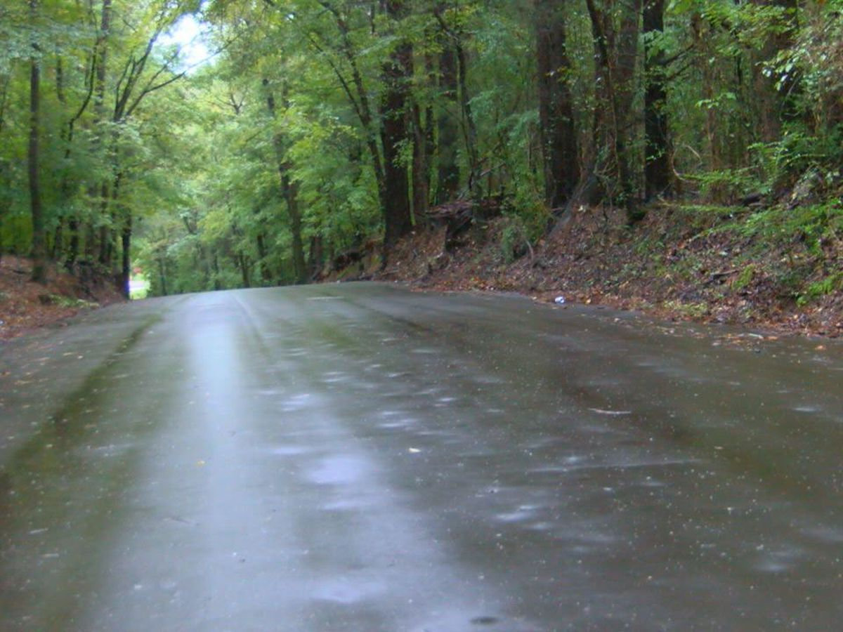 Nacogdoches County roads holding up despite rain