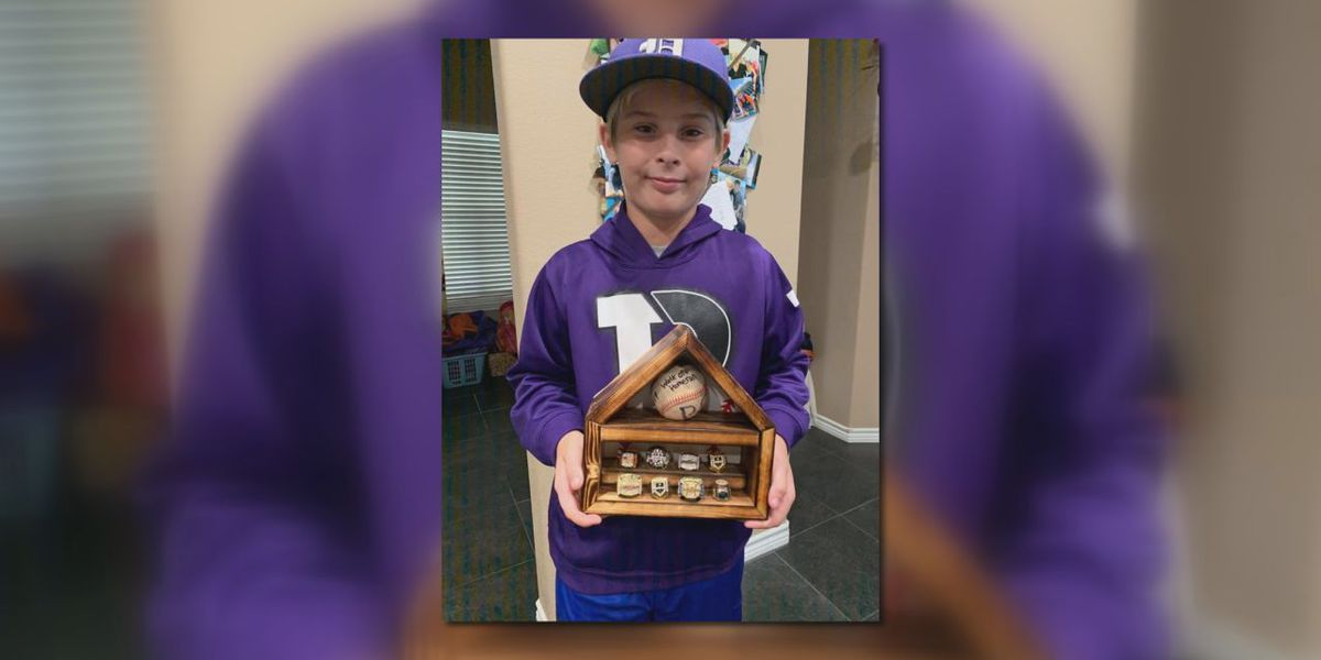 Lufkin baseball player's first home run comes at game where dad was honored