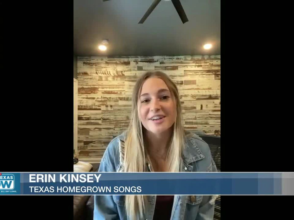 WATCH: Texas homegrown singer Erin Kinsey joins East Texas Now