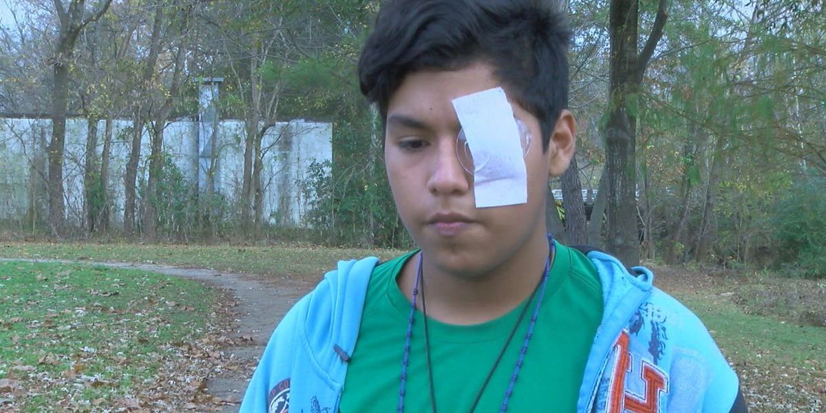 Student stabbed in the eye in classroom is denied medical aid by school