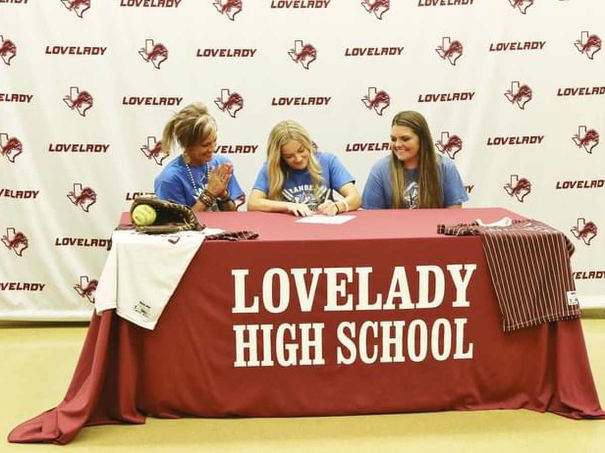 Lovelady's Jacy Stubblefield set to join Kilgore softball program