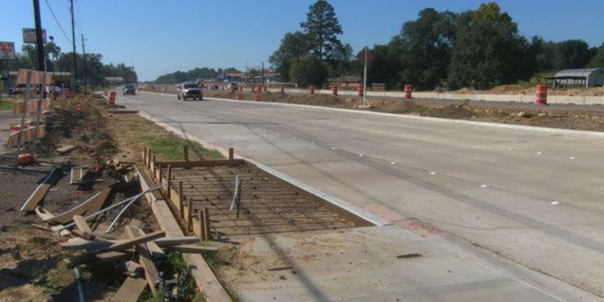 Businesses along US 59 construction zone in Nacogdoches suffering losses