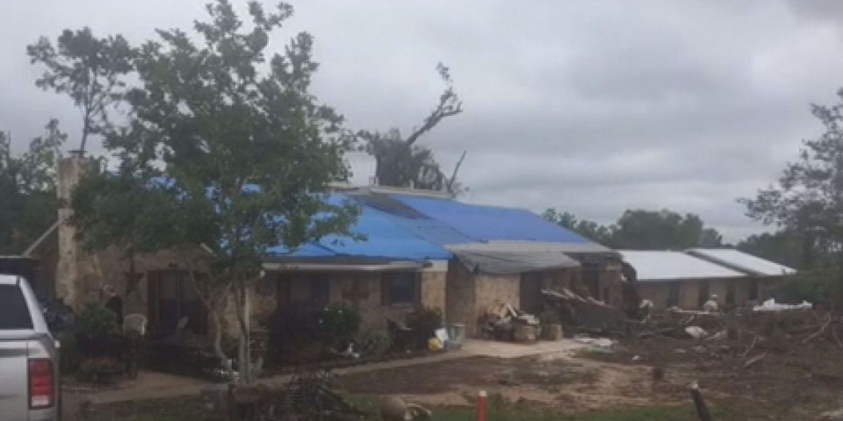 Tornado recovery efforts continue in San Augustine