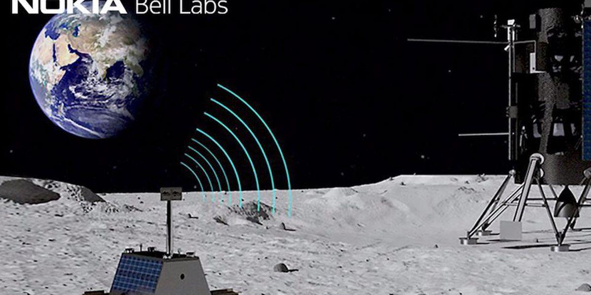 NASA, Nokia putting 4G network on the moon
