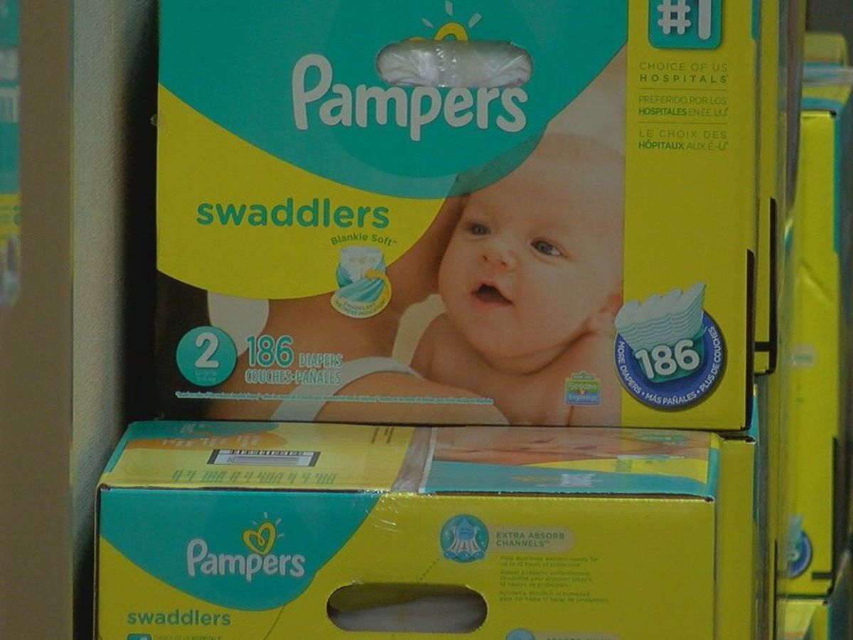 Pregnancy Help Center of Lufkin provides families in need with free diapers
