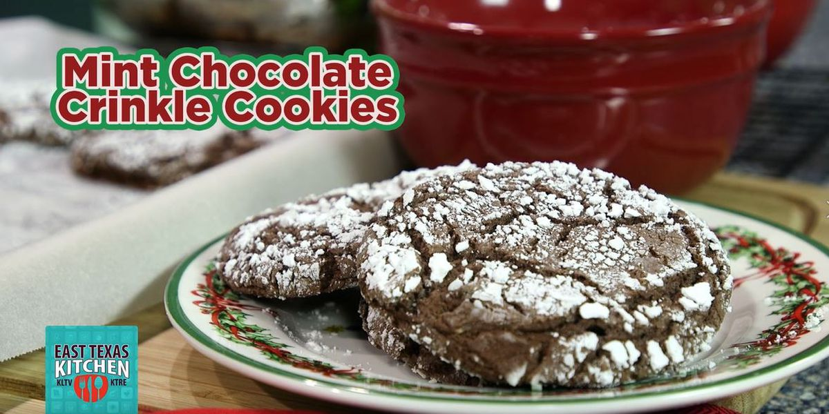 12 Days of Christmas on ETX Kitchen: Crinkle cookies to please your guests