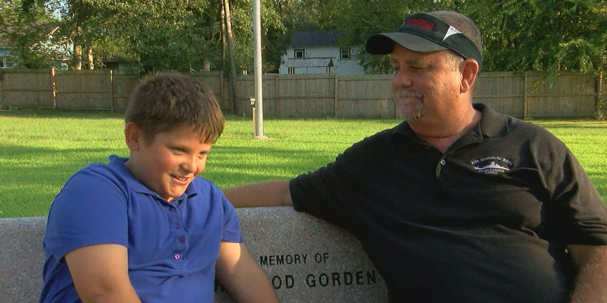 10-year-old Lufkin boy acts quick after coming across a burning house