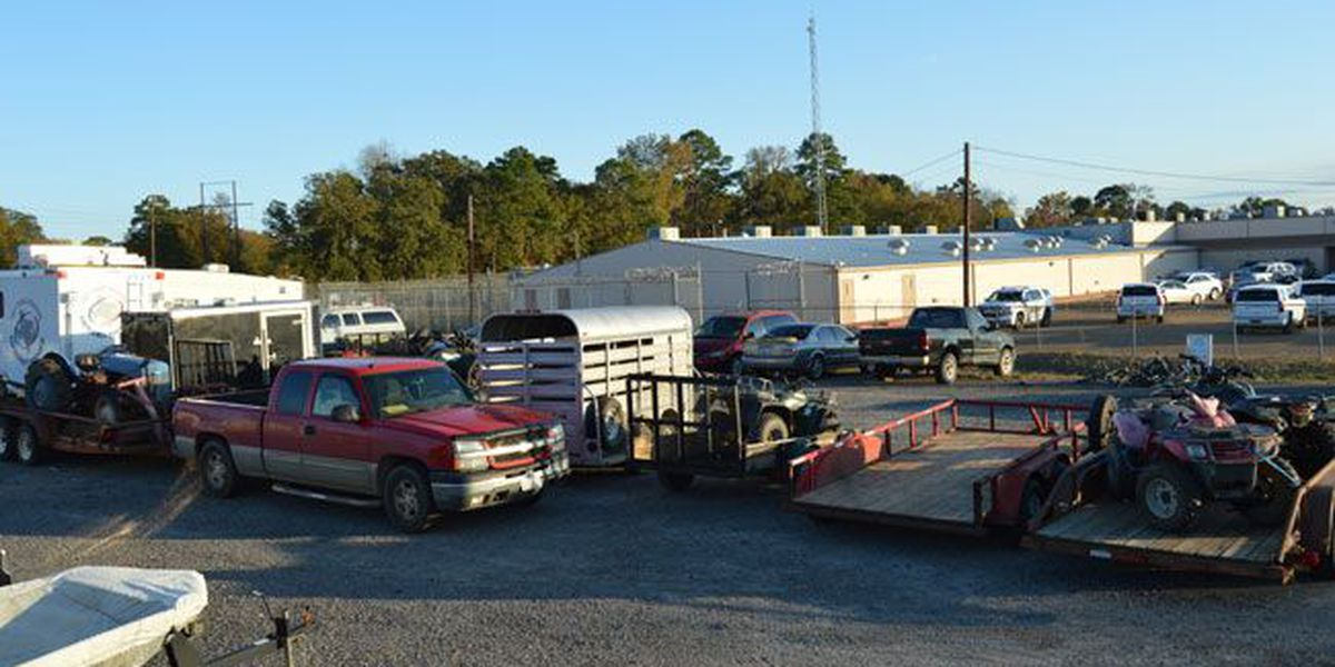 Mt. Enterprise man allegedly stole flatbed trailers, horse trailers, ATVs, tractor
