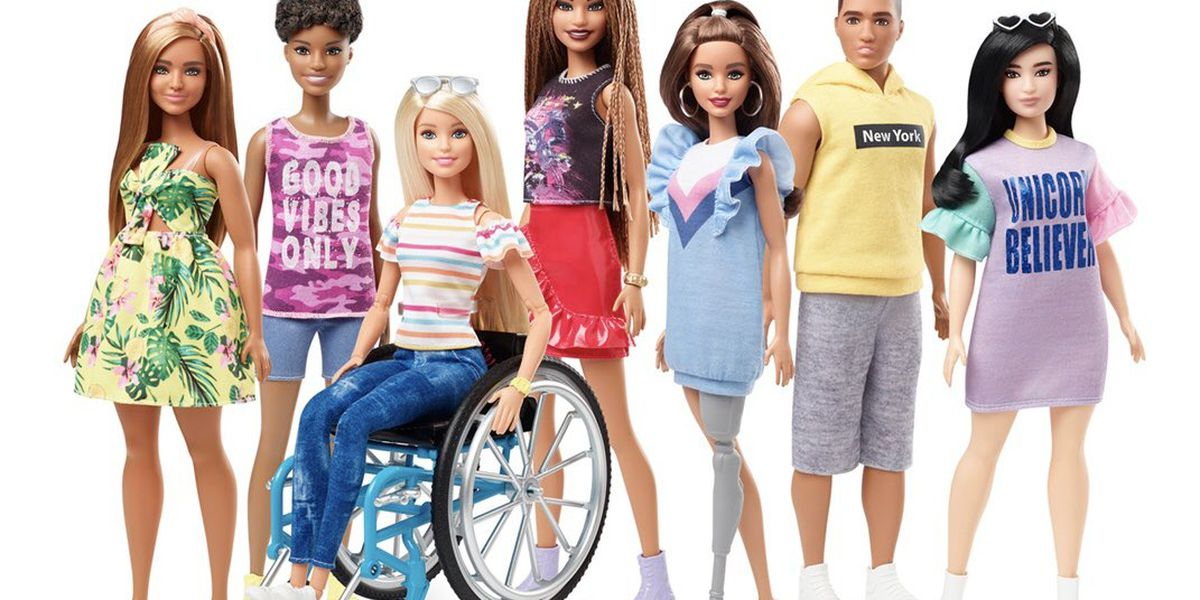 Barbie introduces dolls with wheelchairs and prosthetic limbs