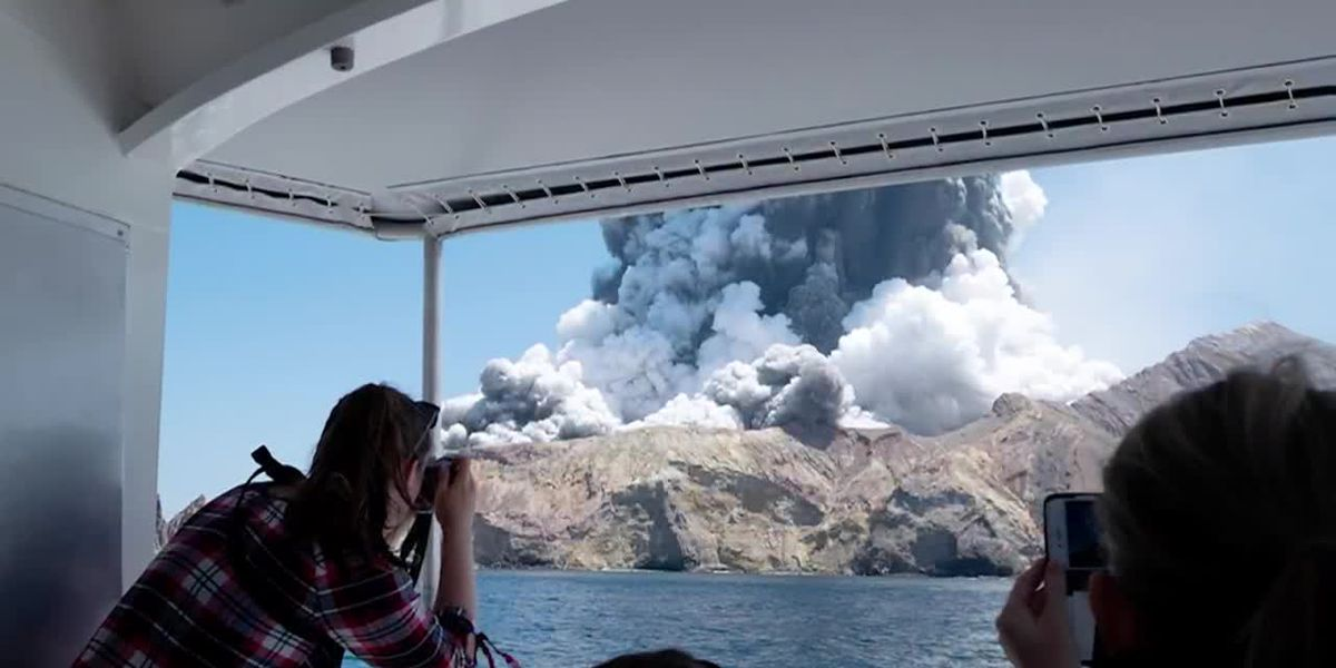 At least 5 dead after New Zealand volcano erupts on island popular with tourists