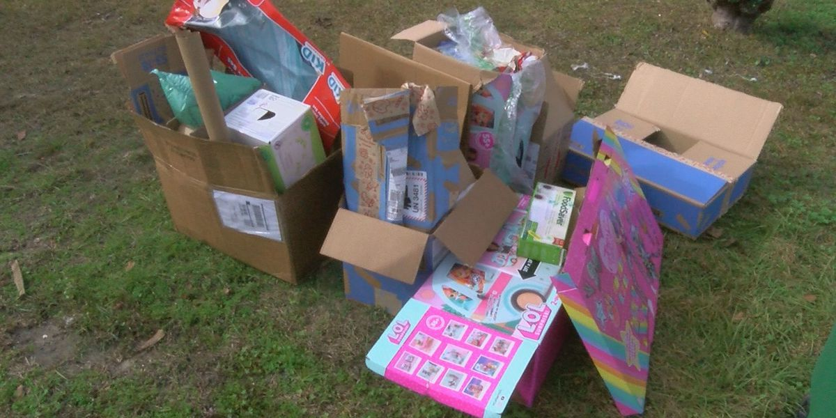 Recycling center in Nacogdoches inundated with cardboard from holiday season packages