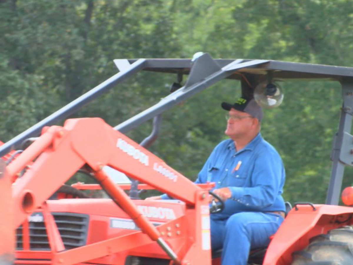 Nacogdoches businessman describes terrifying tractor accident as 'life changing'