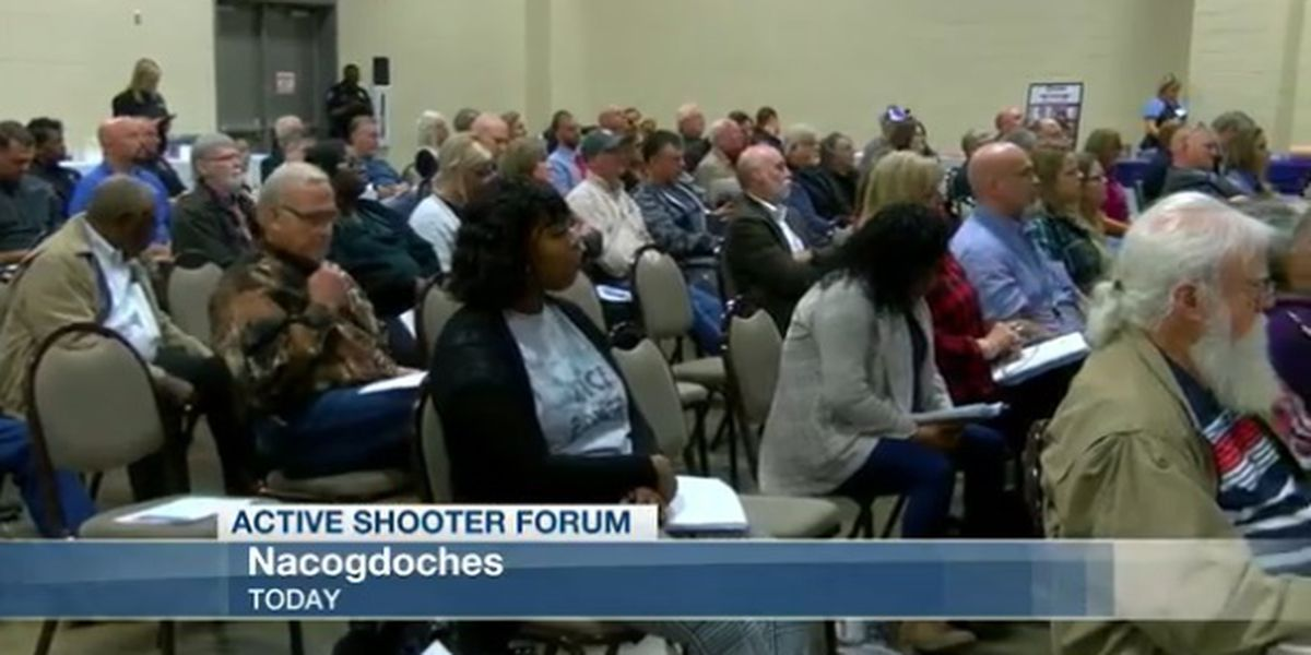 Residents attend active shooter forum directed more for the non-first-responder