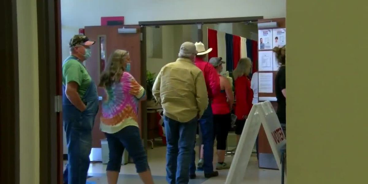 A sense of humor helps election workers with record-high early voting turnout