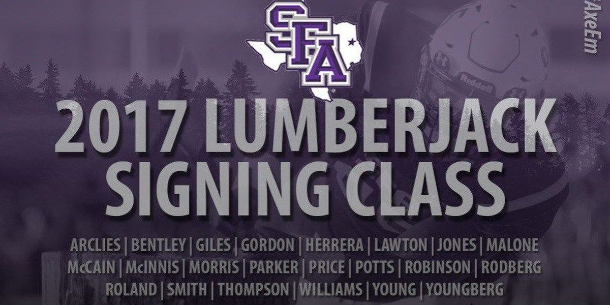 Stephen F. Austin announces 29 additions on National Signing Day