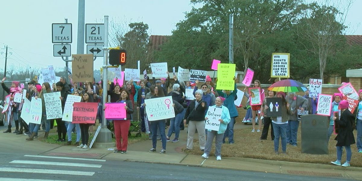 Nacogdoches 'Women's March' celebrates increase in women running for office