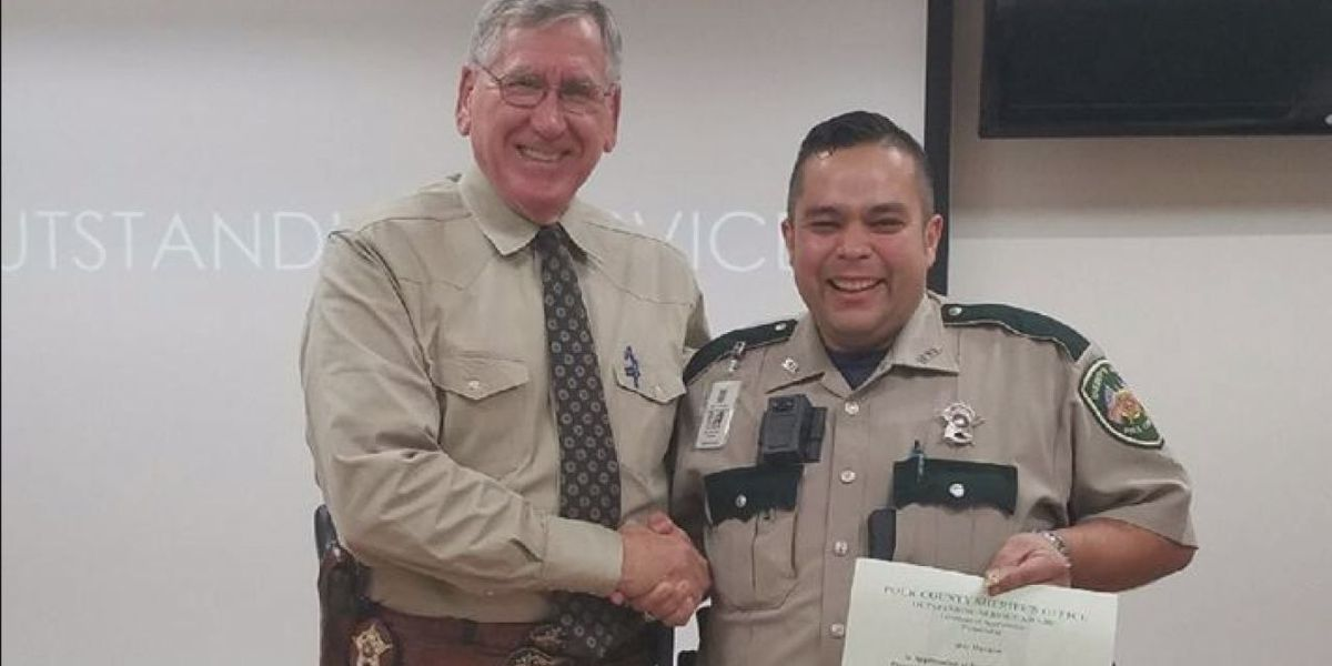 Polk County deputy going strong after fight with leukemia