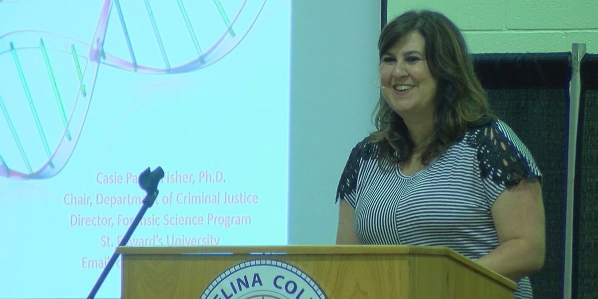 Local and state law agencies participate in coordinated crime conference at Angelina College