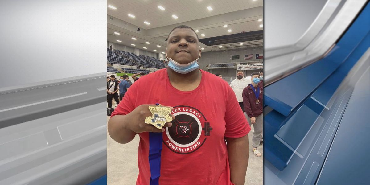 Legacy's Kah'Lil Montague wins powerlifting gold
