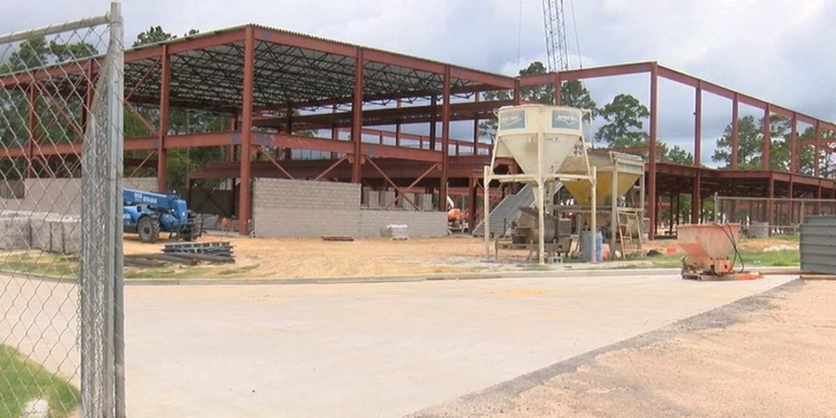 Lufkin ISD: Progress is visible on all 3 construction bond projects