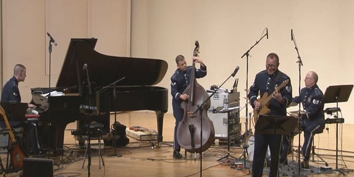 San Augustine native comes home to play with U.S. Air Force Band of the West 'Top Flight' for the first time