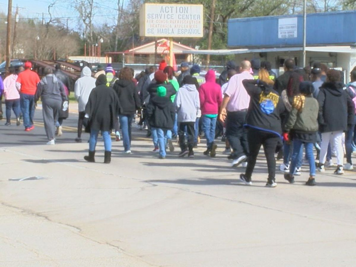 Lufkin community leaders and members honor Dr. Martin Luther King Jr.