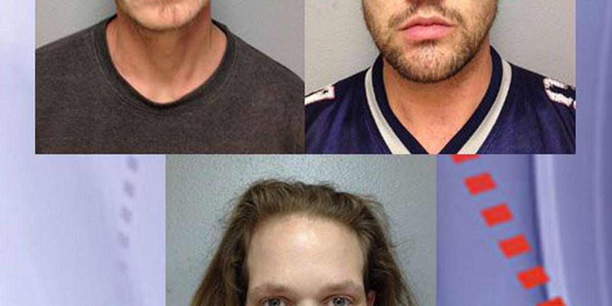 Trinity County drug raid results in 3 arrests, seizure of meth, guns, ammo, suppressors