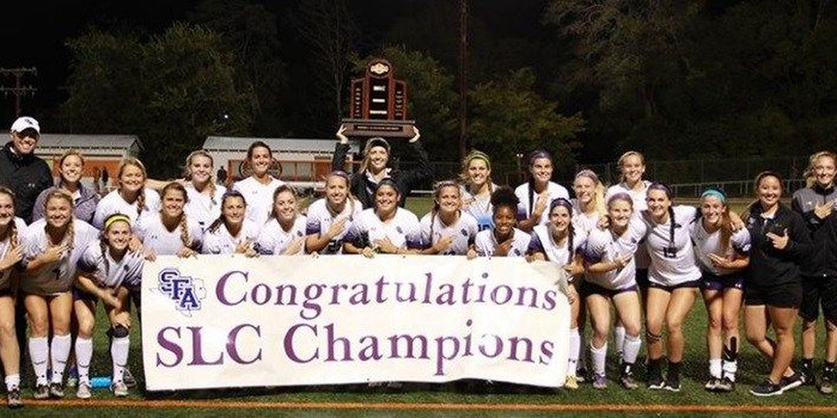 SFA Soccer rides into SLC Tournament with 5th consecutive conference championship