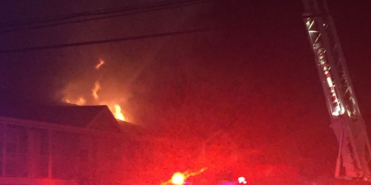 Lufkin Fire Department responds to apartment fire overnight Sunday