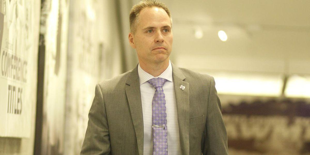 SFA extends WBB coach Mark Kellogg's contract through 2025-26 season