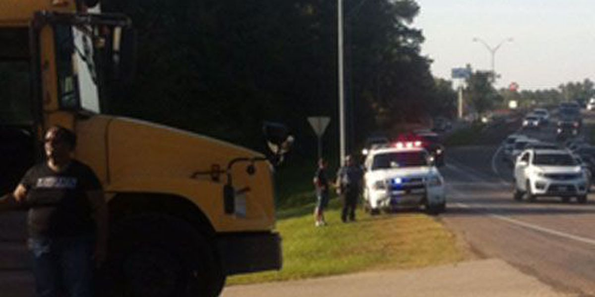 No injuries reported in Lufkin ISD bus accident near loop-Atkinson Drive intersection