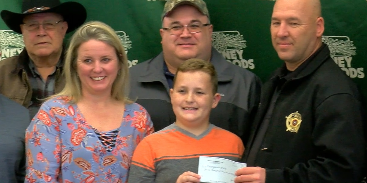 Nacogdoches boy makes good on $11,000 donation to fallen deputy's family