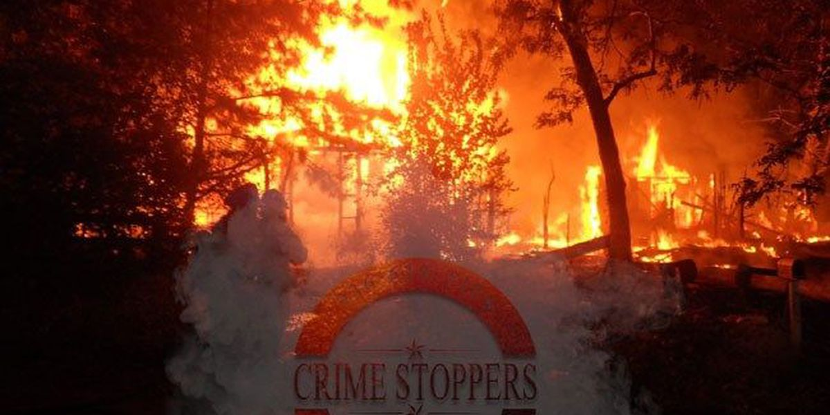Deep East Texas Crime stoppers offering reward for info on suspicious Crockett fires
