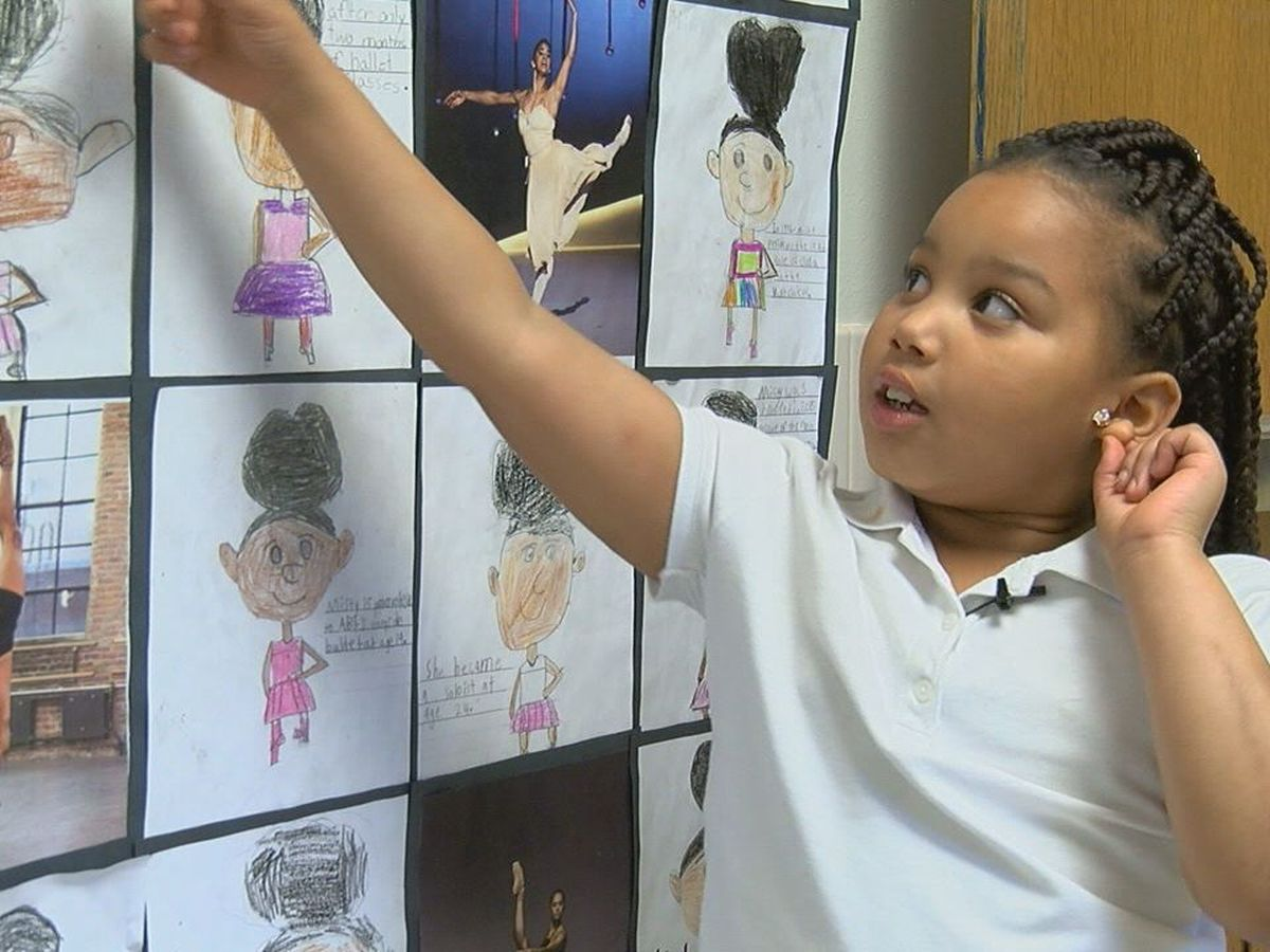 Students at Trout Primary create Black History Wall of Honor