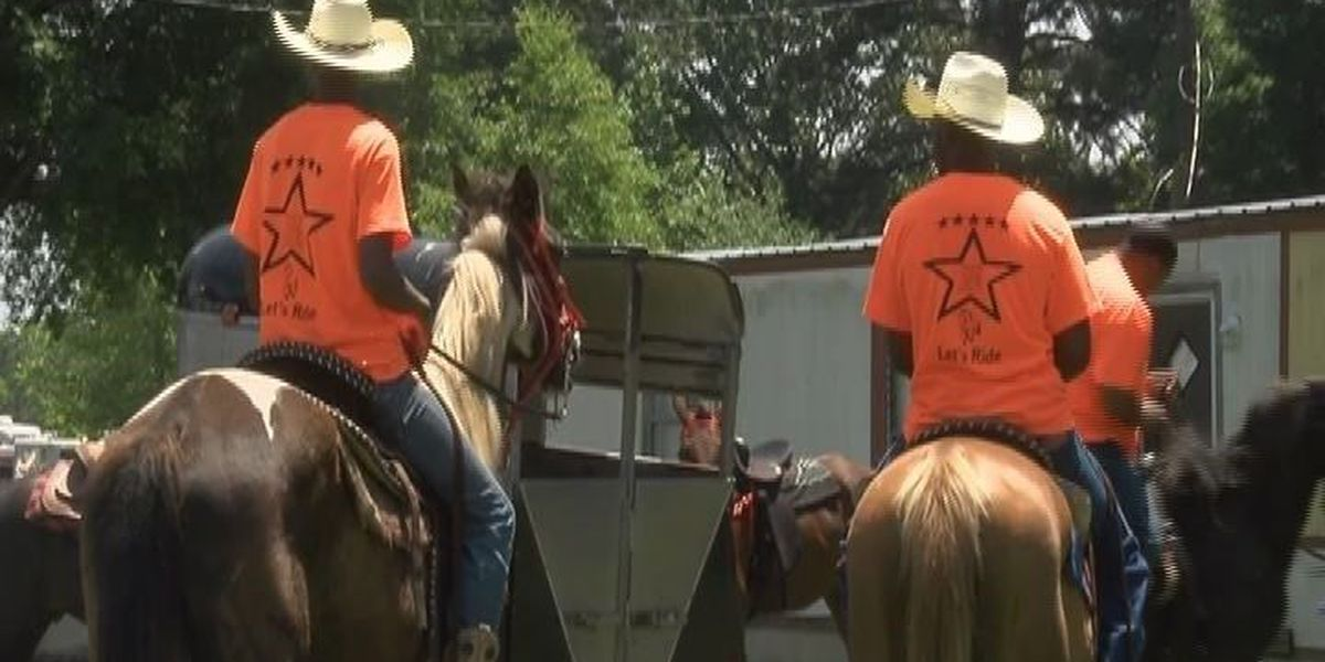 Nacogdoches family holds annual trail ride