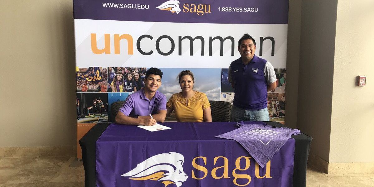 Central's Chris Montero signs with SAGU Track