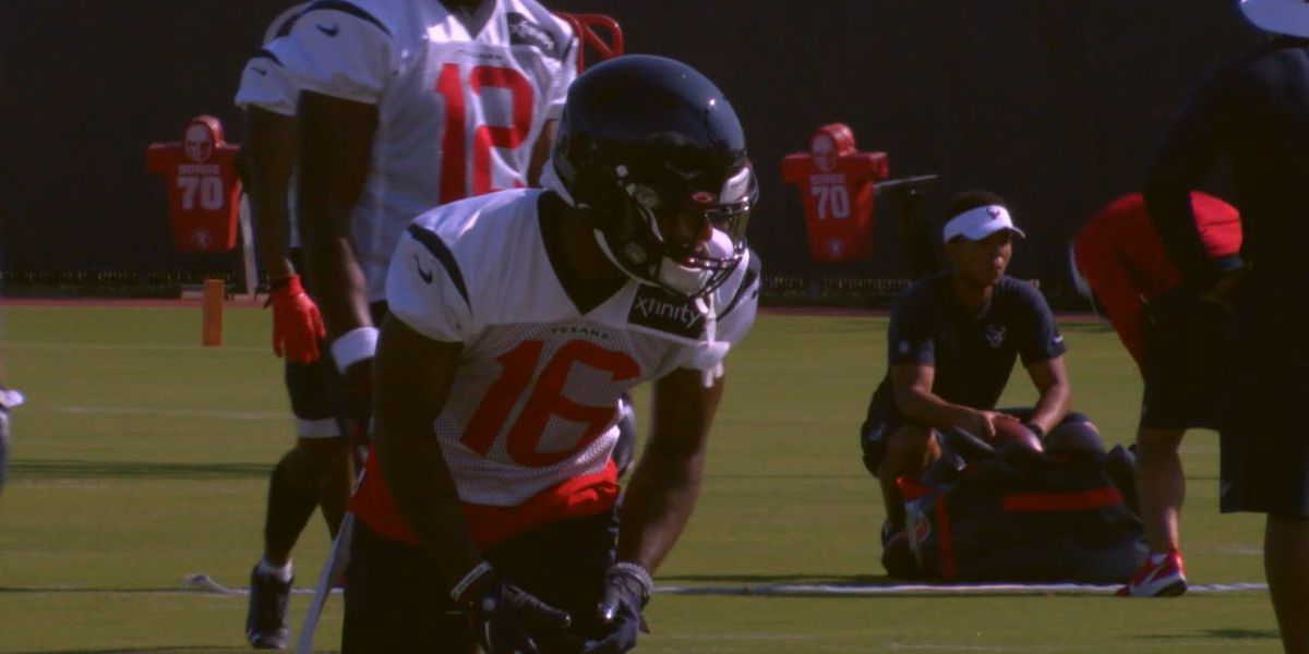 WEBXTRA: Keke Coutee chats after day one at Texans Camp