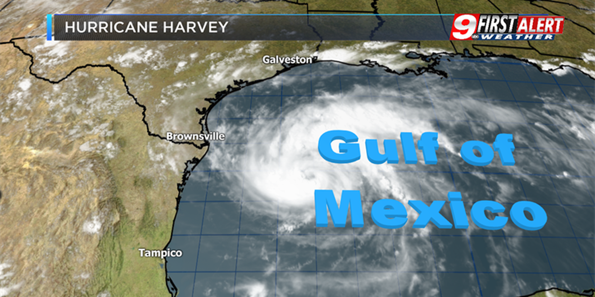 Hurricane Harvey intensifies, heavy rain a concern for East Texas