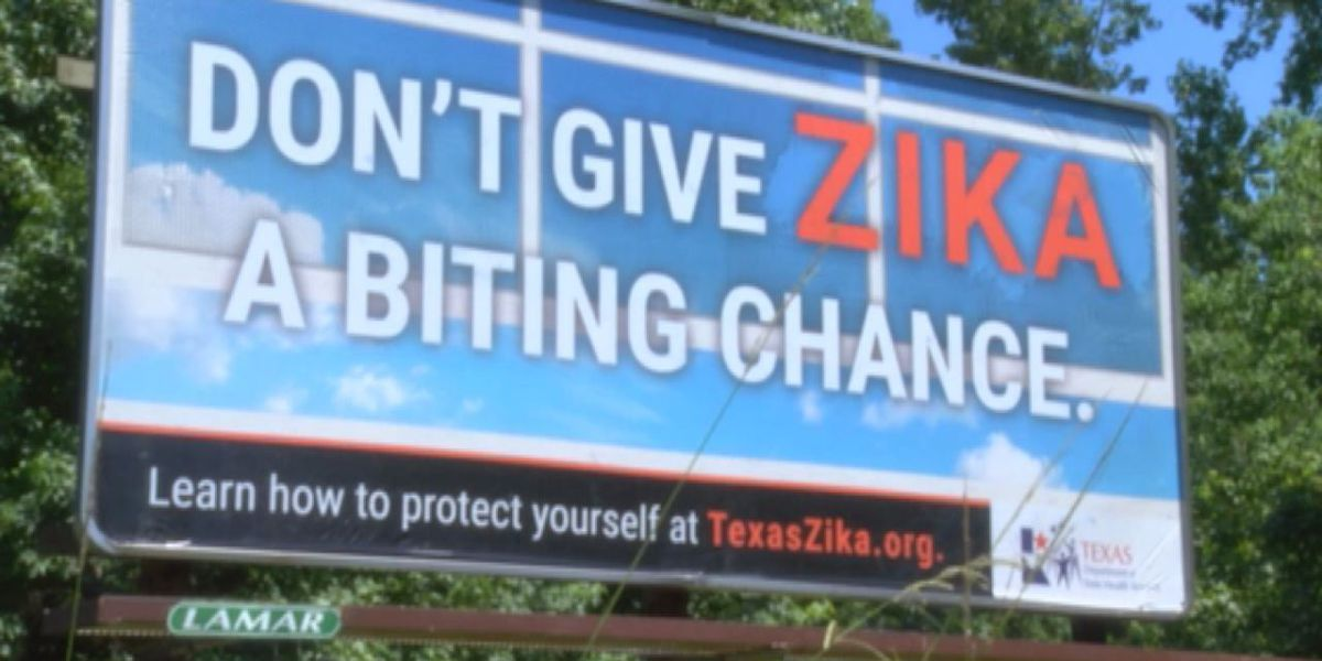 New Zika warnings showing up in East Texas