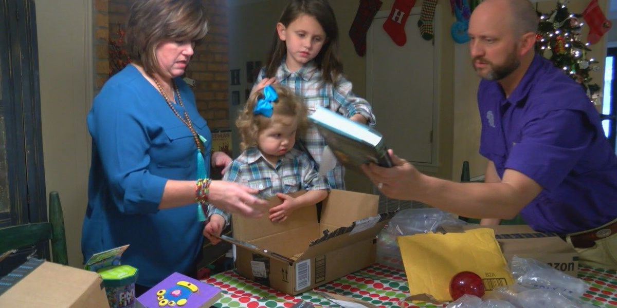 Jasper family of girl who received lung transplant gives back to Texas Children's Hospital