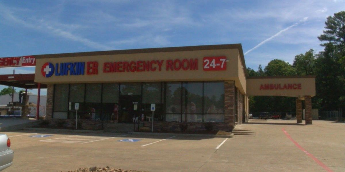 Lufkin's 1st freestanding emergency room opens; employees discuss healthcare trend